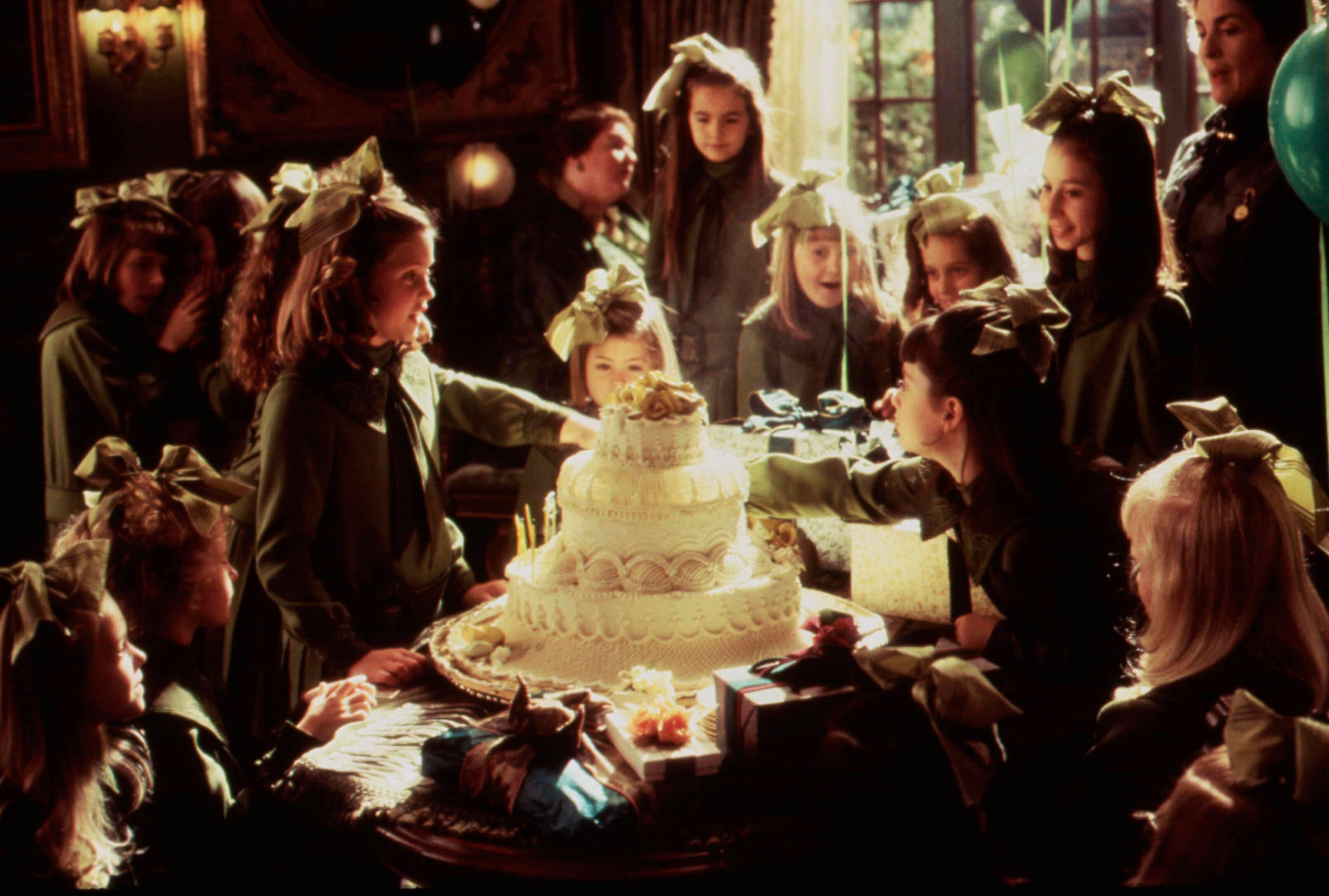 """Liesel Matthews and the cast of """"A Little Princess."""""""