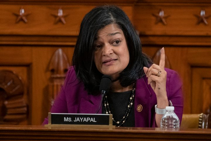 Rep. Pramila Jayapal (D-Wash.), a co-chair of the Congressional Progressive Caucus, is calling for more time to consider the