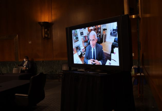 Dr. Anthony Fauci testified remotely to a Senate committee this week, saying the U.S. runs