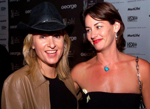 Melissa Etheridge (L) split from Beckett's other mum, Julie Cypher in
