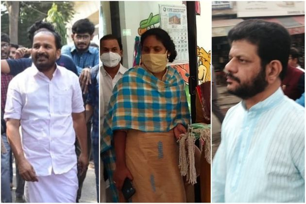 Congress MPs TN Prathapan, Ramya Haridas and VK Sreekandan are among those asked to go into