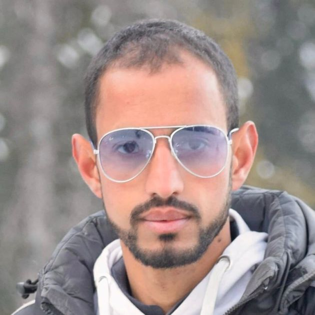 Merajuddin Shah, 25, was shot dead by security forces in Kashmir on 14