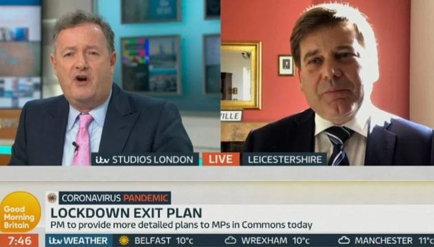 Bridgen was interviewed on Good Morning Britain earlier this