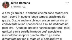 Silvia Romano agli amici su Fb: