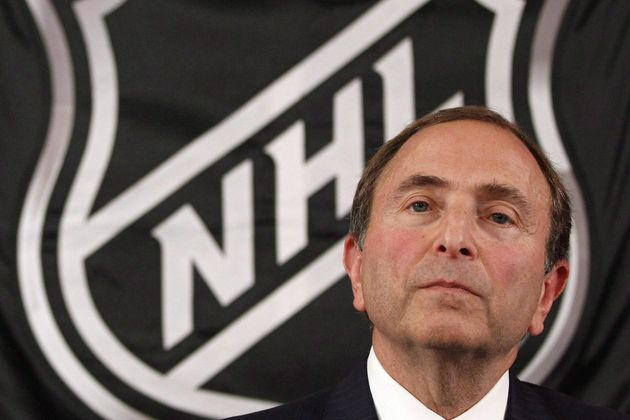 NHL commissioner Gary Bettman is seen here in New York in September 2012. Bettman says cancelling the...