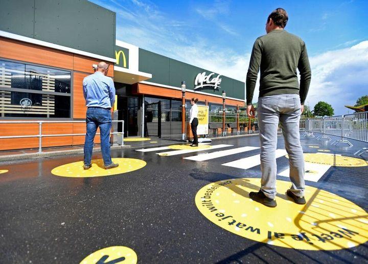 McDonald's à Arnhem, aux Pays-Bas