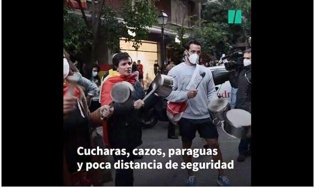 Protestas en el Barrio de