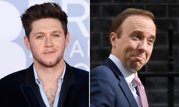 Niall Horan Fans Are Loving His Takedown Of Matt Hancock: No Idea Who That Is But I Agree