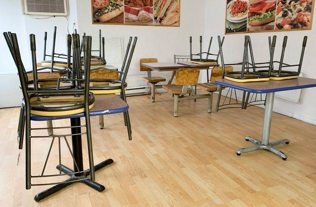 La réouverture des restaurants ne fait pas partie de la première phase de déconfinement....