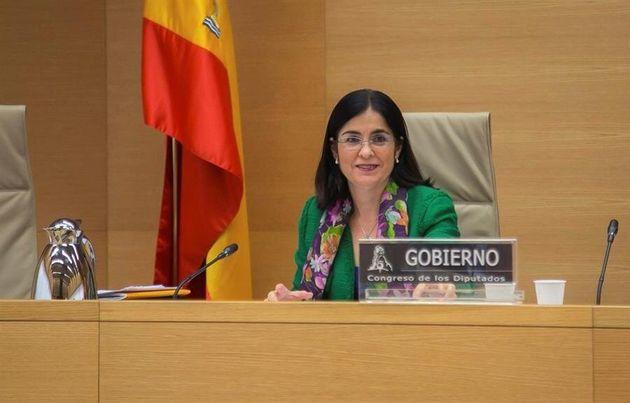 Carolina Darias, ministra de Política Territorial y Función