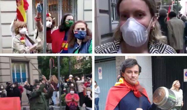 Manifestación en Núñez de