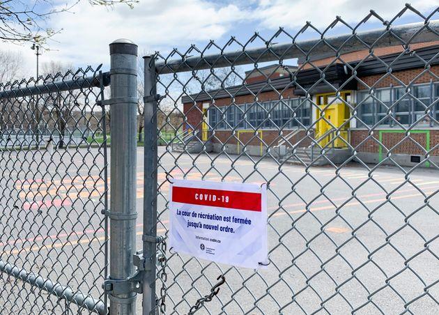 C'est confirmé: les écoles primaires de la région de Montréal resteront fermées jusqu'à la prochaine...
