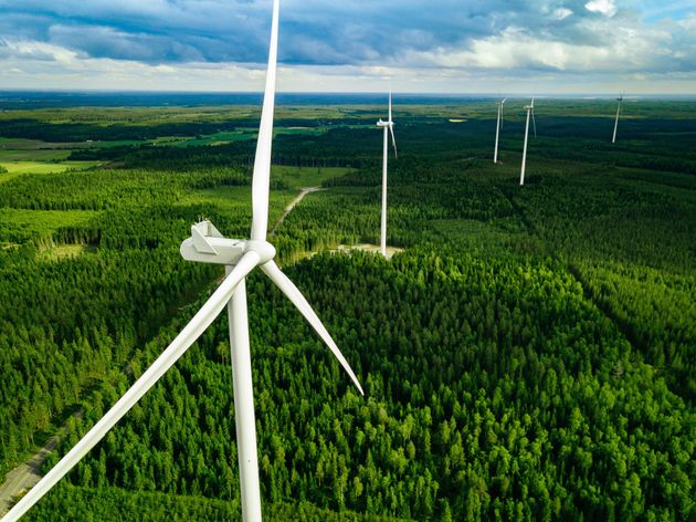 Windmills are seen in a stock photo. A court has quashed the Ontario government's decision to cancel...
