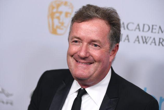 Piers Morgan at a Bafta event last