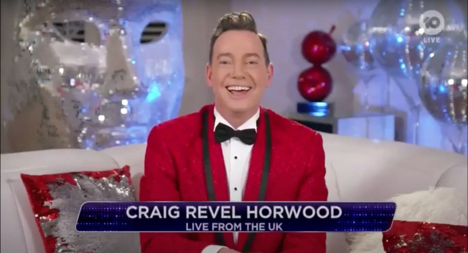 Craig Revel Horwood judged the final of Dancing With The Stars Australia from