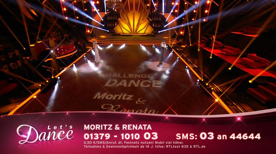 Let's Dance has aired without an audience in
