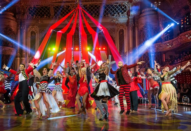 The group dances are a much-loved aspect of the
