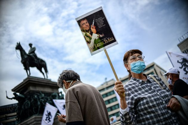 Βουλγαρία: Διαδήλωση στη Σόφια ενάντια στην