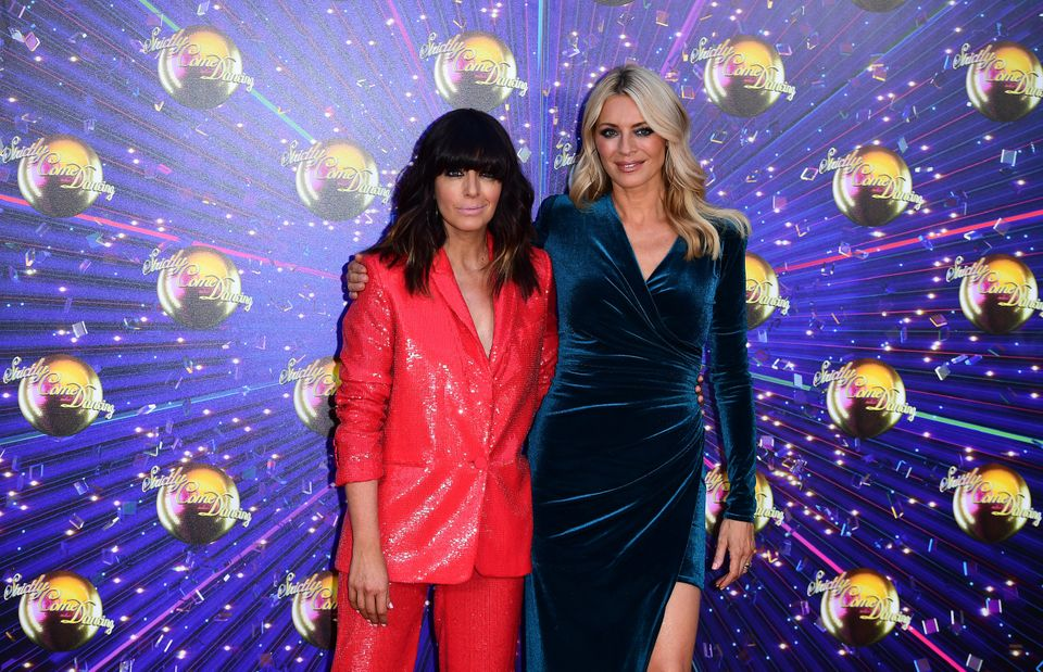 Strictly hosts Claudia Winklemann and Tess Daly won't be stood as close as