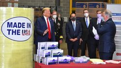 Donald Trump Refuses To Wear Mask At Mask Supplier, Suggests Testing Is