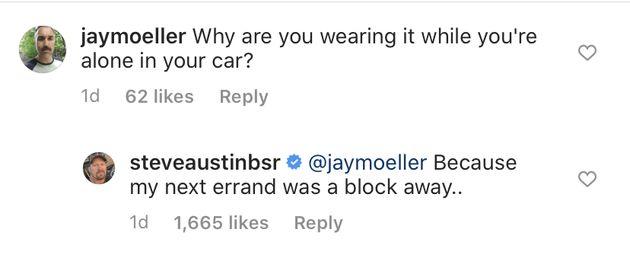 Stone Cold Steve Austin cierra al crítico que llamó su máscara facial
