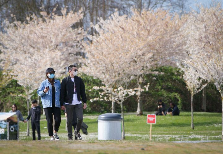 Walking through a park, like this one in Richmond, B.C., can be a great way to get some fresh air. But if being around other people is stressful, there's no need to go to a place that you know will likely be busy,