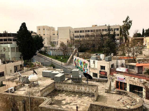 ヨルダン・アンマン市内の様子