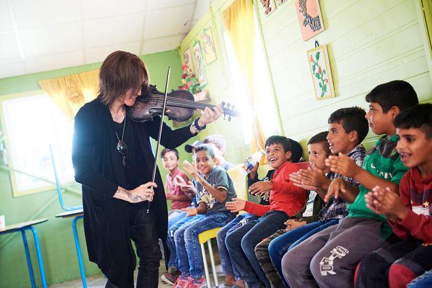 2019年10月、『ババガヌージュ』がザータリ難民キャンプを訪れた
