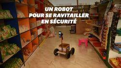 Ce robot à 40 dollars permet de faire ses courses sans se déplacer en pleine