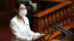 森雅子法務大臣、元検事総長らの意見書提出への見解を問われ「真摯に説明していく」