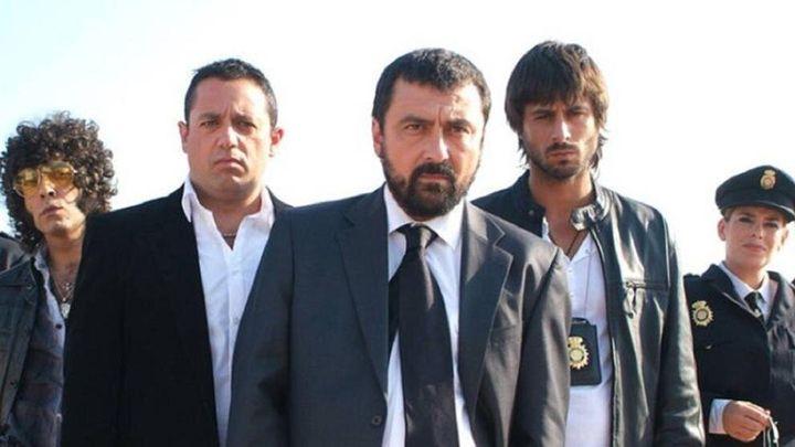 Pepón Nieto, Paco Tous y Hugo Silva en 'Los hombres de Paco'.