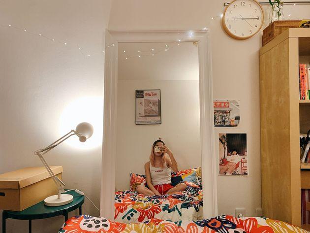IKEA後、自撮りのはかどる家になった