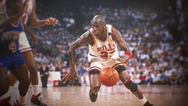 Michael Jordan, star du docu-série