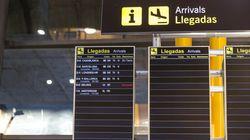 Transportes limita a cinco los aeropuertos de entrada a España en la