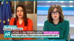 El inesperado comentario personal de Ana Rosa Quintana a Inés