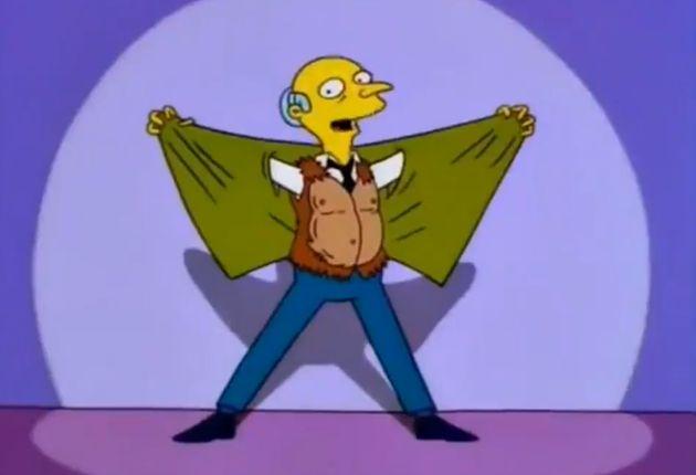 Señor Burns en Los