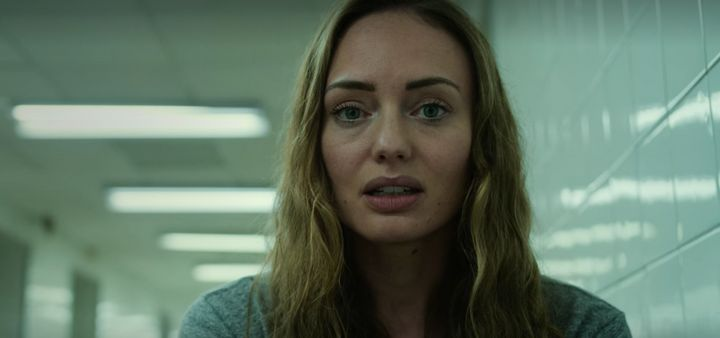 """Laura Haddock plays Zoe in the opening scene of """"White Lines."""""""