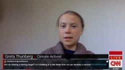 Greta Thunberg critiquée (à tort) pour sa présence dans une émission de CNN sur le