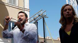 Salvini-Meloni, la festa della Repubblica si fa rissa fra