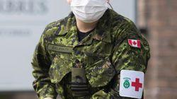 Cinq militaires déployés au Québec et en Ontario ont contracté la