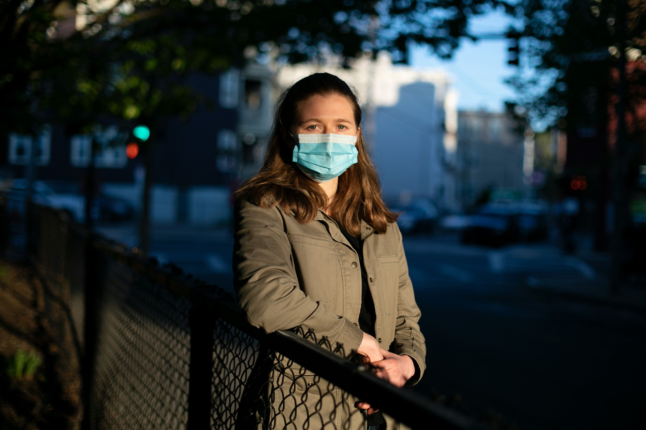 Jessica Schiff, a graduate student at Harvard University's T.H. Chan School of Public Health, volunteered to help Massachuset