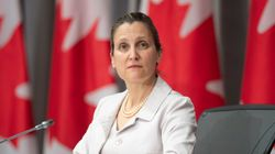 Freeland Mum On Reports U.S. Wants Border Restrictions Extended Beyond