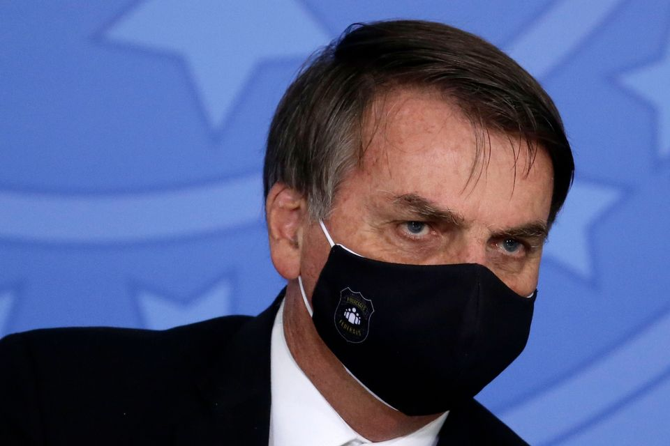 Brazil's president Jair Bolsonaro has has echoed Donald Trump's suggestions towards the use of a controversial...