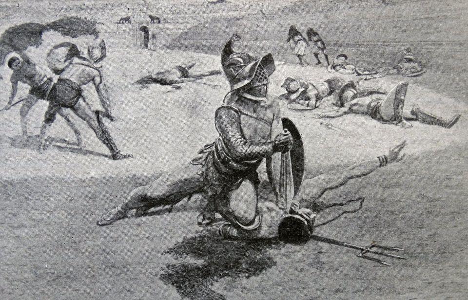 Αίμα και άμμος: μονομάχοι που έγραψαν ιστορία στην