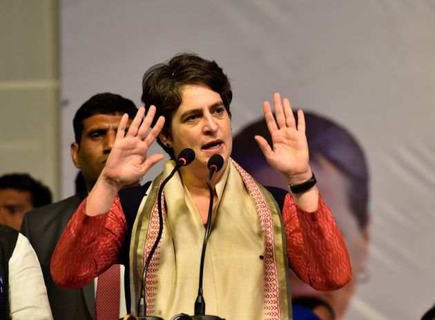 General Secretary of the All India Congress Committee Priyanka Gandhi Vadra in a file