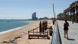 Barcelona permitirá pasear por la playa y parques a partir del