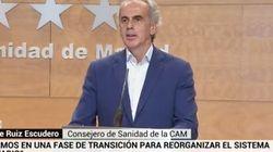 El consejero de Sanidad de Madrid critica al Colegio de Médicos tras sus quejas por la Atención