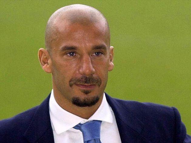 Gianluca Vialli headshot, as Watford fc soccer coach,