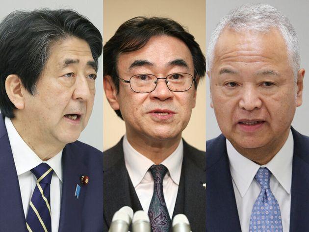 安倍首相、黒川検事、甘利氏