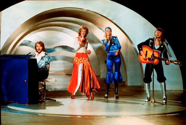 ABBA performing in Brighton in